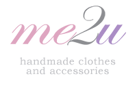 me2u logo - handmade clothes and accessories